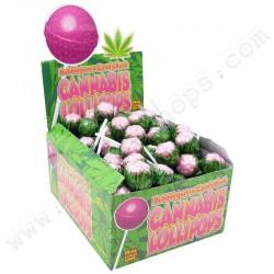Sucettes Cannabis Candy Kush x Bubble Gum
