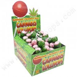 Sucettes Strawberry haze x Bubble Gum